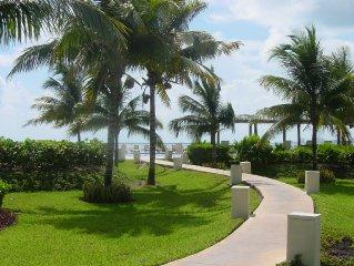 Oceanfront Condo Overlooking Gardens & Ocean