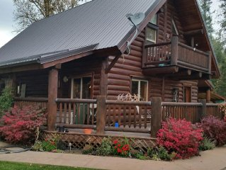 Log Cabin on Acreage near Meadow Lake Resort