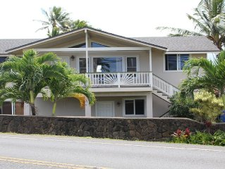 3 Bedroom, Partial Ocean View, with A/C, Close to Hukilau Beach, MONTHLY