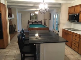 4 BR/4 BA, 8 Full Size Beds, New Bathrooms, Near Pinehurst Resort, Wifi