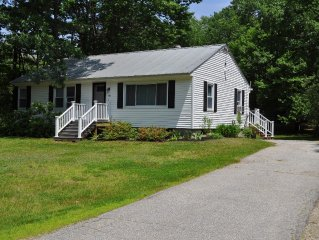 Quiet, wooded location, sleeps 4+