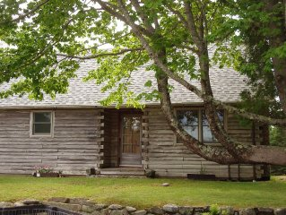 Fully renovated. centrally located log cabin.