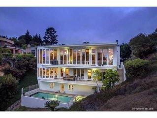 Beautiful Ocean View La Jolla Home - Pool, spa, sauna, gym, movie theater & more