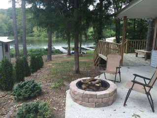 Cabin On The Lake, Priced cheap to rent!  90 +reviews! Fisherman's cabin, Canoe
