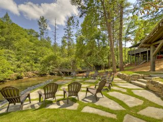 Fightingtown Creek front cabin with your own personal island