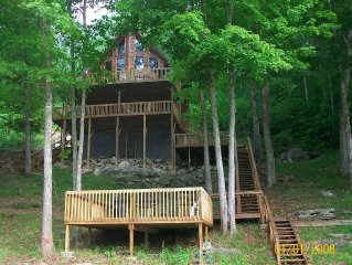 Secluded Lynch Hollow Lagoon Cabin  June 3-10, 17-24 & August 12 -31 available