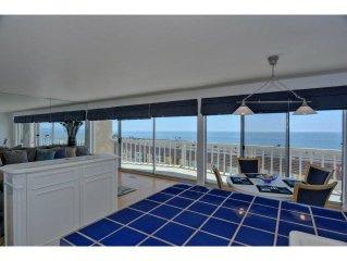 Ocean View condo in Aptos, 1 block to Sand, 2BR/2BA, Pool, Deck, Linens Incl'd