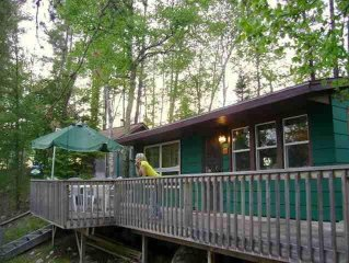 Island Retreat On Bear Island Lake, Family And Pet Friendly. 10 Minutes To Town.