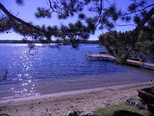 Water side cabin on pristine Burntside Lake! Come and enjoy the senerity!