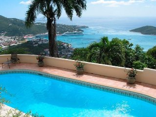 Spectacular Harbor View with Large Solar Heated Pool