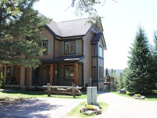 4 BR Chalet with amazing view,free ski shuttle, fireplace,X-country skiing, etc