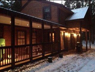 Adirondack Cabin On Beautiful Lake Brantingham, NY