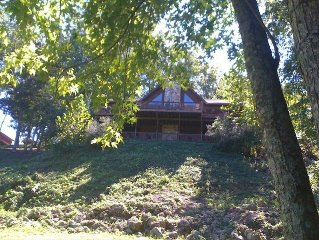 Current River Cabin in Van Buren Mo. Riverfront!