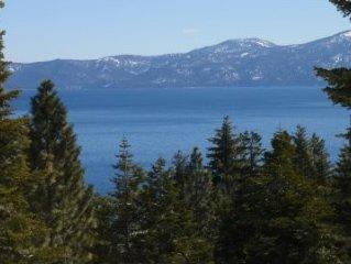 Beautiful Tahoe Lakeviews - West Shore - 3BR/2BA- Meeks Bay