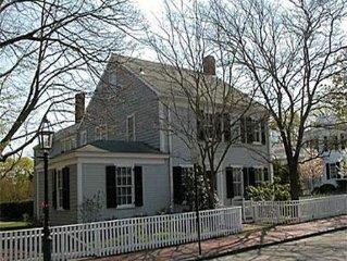 Downtown Edgartown Captain's House
