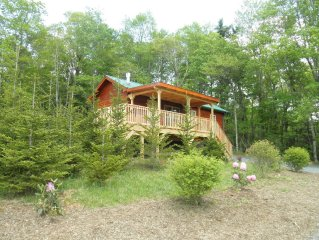 Little Switzerland Cabin For Romance And Soul Shine!