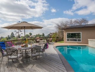 Private Pool, Gourmet Kitchen & Game Room -20 minutes to Mission Beach