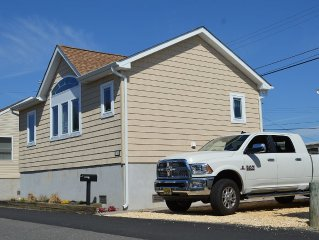 New Beach Home W/ Central Air! 1 Block To The Beautiful Ocean