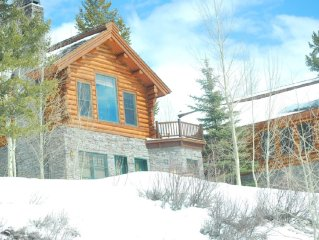 "Luxury Log Cabin Home*Epic Views*Hot Tub*Fireplace*60"" TV"