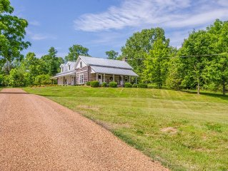 Premier Leipers Fork Log Cabin Property