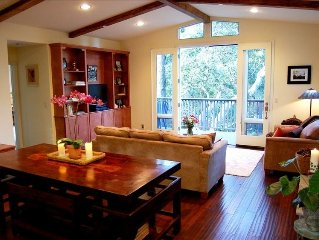 CARMEL~Enchanted Oaks~Lovely Retreat in the Treetops~Gorgeous, Peaceful, Private