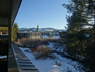Perfect Mountain Getaway! Downtown Winter Park Condo On The Fraser River!