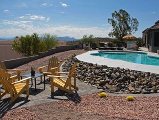 Spectacular views of Four Peaks & privacy...and it's POOL SEASON!