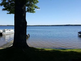 Visit Our Manistee Lake Retreat with your own private beach area