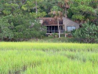Fripp Island Marsh Front/ Peaceful / Relaxing /Golf Cart
