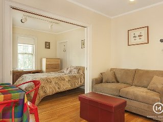 Near scenic Fresh Pond, the Charles river, shops, and easy access to Harvard Sq.
