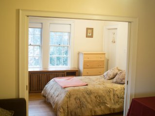 Near scenic Fresh Pond, Charles river, shops,  Harvard Sq access , Free parking