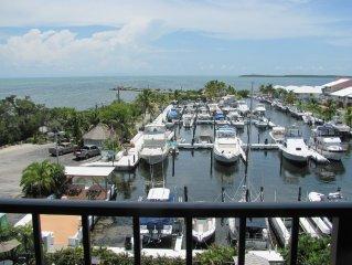 Key Largo Direct Ocean View Condominium with Private Marina