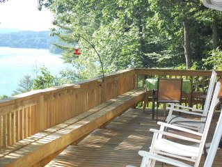 Family and pet friendly home with access to Lake Glenville.