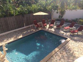 4 Bedroom 3 Bath Villa in Orient Bay, 5 min Walk to Beach and French Restaurants