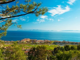 Terranea Luxury Ocean View Villa! - * Full Resort Privileges!  * - 3 Bed/3 Bath