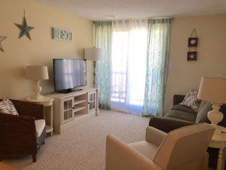 Newly renovated, comfortable, just steps to the beach!