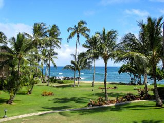Lae Nani 423, Stunning Oceanfront View, Newly Remodeled In Tasteful Island Decor