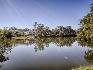 Palmetto Bluff Home with Waterfront views; 2 Bikes, Golf Access; Close to Chapel