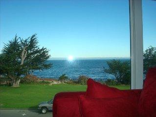 Panoramic Ocean Views/ Two Aquarium Passes