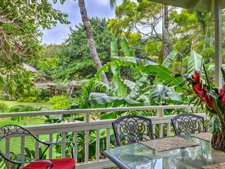 Budget Garden View 1-bd 2-ba Cottage with Resort Pool for Two - Terrific Value
