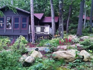 Lake Winnipesaukee Waterfront Cottage 9, private and special!!!