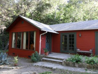 Beautiful Refugio Canyon Hideaway, a Rural location in Santa Barbara
