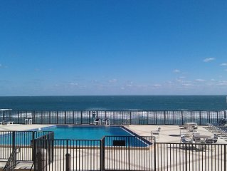 Amazing Oceanfront and Pool Views.  Best Staff and no drive Beach.