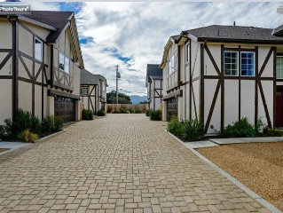 Downtown Solvang 3 bedroom 2.5 bath Charming Danish House