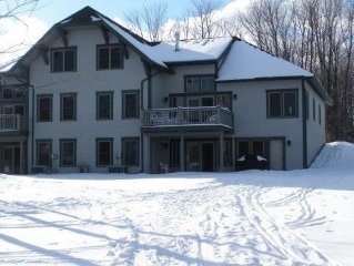 On slopes, walk across street to Club house, direct rates, Resort amenities