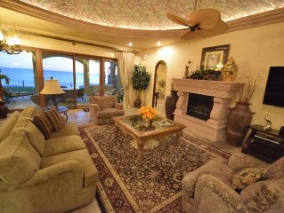 Unparalleled Luxury--Beach Front House On The Water 5Br/5Ba Sleeps 14