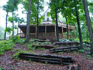 Crane Hill - Smith Lake Alabama Rental House-I-65-Broadband-Sleeps 25