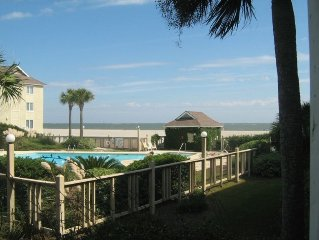 Lets hit the beach - Porch with Private Stair access to pool and beach