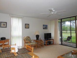 Newly furnished 1 Br/1Ba Beautiful Golf Course View