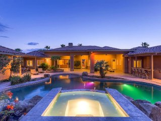 Huge Villa W/ Movie Theater, Pool, Spa and Guest House